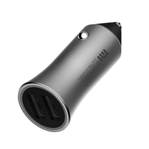 АЗУ Xiaomi Car Charger QC 3.0 18W Silver (CC05ZM)
