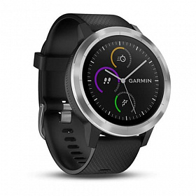 Garmin Vivoactive 3 Black with Stainless Hardware
