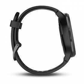 Garmin Vivomove HR Sport Black-Black L